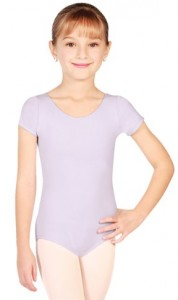 Capezio Girls' Classic Short Sleeve Leotard
