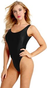 FEESHOW High Cut Swimsuit