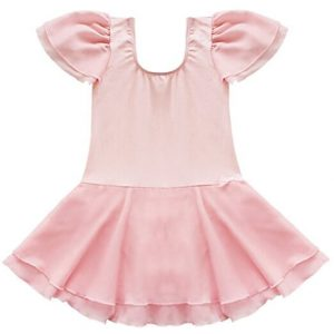 TiaoBug Girls Ballet Tutu Dance Costume